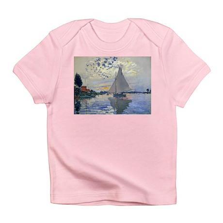 Claude Monet Sailboat Infant T-Shirt