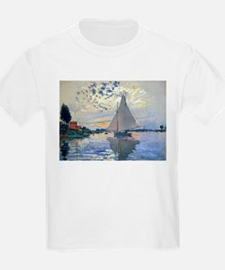 Claude Monet Sailboat T-Shirt