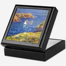 Claude Monet Calm Sea Keepsake Box