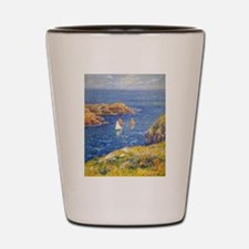 Claude Monet Calm Sea Shot Glass