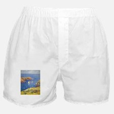 Claude Monet Calm Sea Boxer Shorts