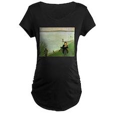 Macke Anglers on the Rhine T-Shirt