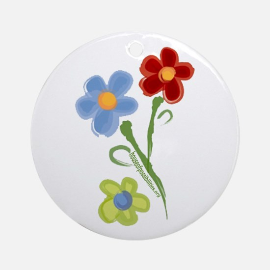 HOPe Flowers Ornament (Round)