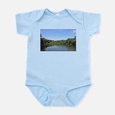 Brook over the bridge Infant Bodysuit