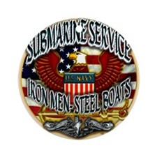 USN Submarine Service Iron Men Steel Boats Ornamen