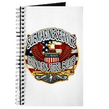 USN Submarine Service Iron Men Steel Boats Journal