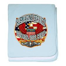 USN Submarine Service Iron Men Steel Boats baby bl
