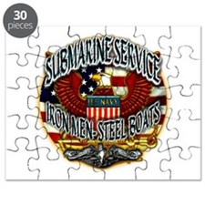 USN Submarine Service Iron Men Steel Boats Puzzle