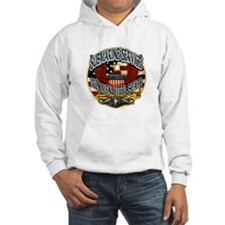 USN Submarine Service Iron Men Steel Boats Hoodie