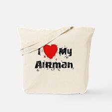 I <3 My Airman Tote Bag