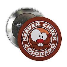 "Beaver Creek Circle 2.25"" Button"