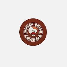 Beaver Creek Circle Mini Button
