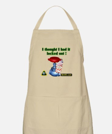 I Thought I Had It Locked Out! Apron