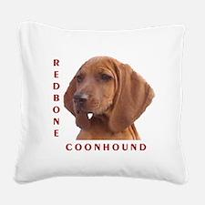 Redbones Square Canvas Pillow