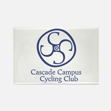 Cascade Campus Cycling Club Rectangle Magnet