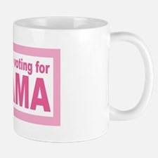 Women Are Voting For Obama Mug