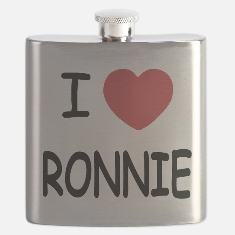 I heart RONNIE Flask