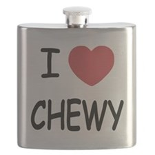I heart CHEWY Flask