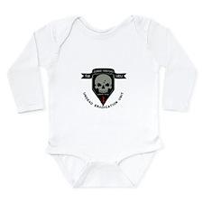 1st Zombie Hunters Long Sleeve Infant Bodysuit
