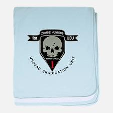 1st Zombie Hunters baby blanket