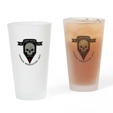 1st Zombie Hunters Drinking Glass