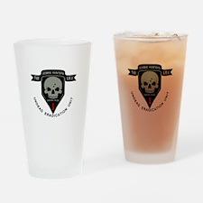 1st Zombie Hunters Drinking Glass