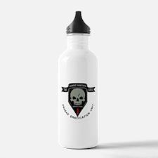 1st Zombie Hunters Water Bottle