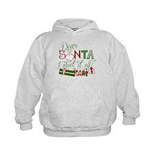 Dear Santa I want it all Hoodie