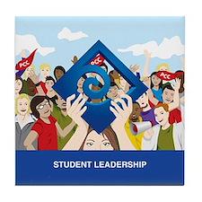 Cool Leadership Tile Coaster