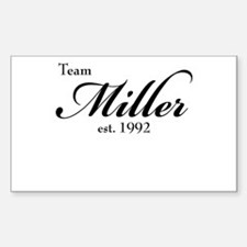 Team Miller Decal