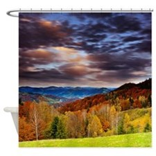 Fall Mountainz Shower Curtain