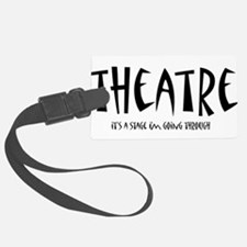 theatrestage1.png Luggage Tag