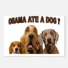 OBAMA DOGS Postcards (Package of 8)
