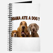 OBAMA DOGS Journal
