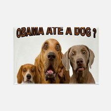 OBAMA DOGS Rectangle Magnet (100 pack)