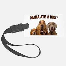 OBAMA DOGS Luggage Tag