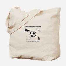 Coach Youth Soccer Cats Tote Bag