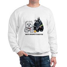 Scottie & Westie Best Friends Sweatshirt