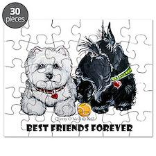 Scottie & Westie Best Friends Puzzle