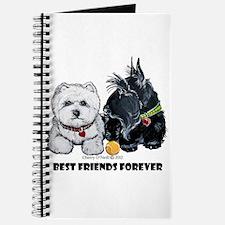 Scottie & Westie Best Friends Journal