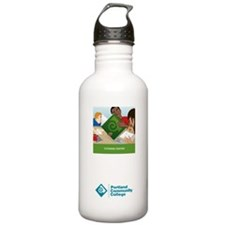 Cute Tutoring center Water Bottle