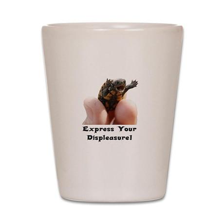 Express Your Displeasure! Shot Glass