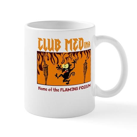 Flaming Possum Mug