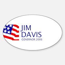 Davis 06 Oval Decal