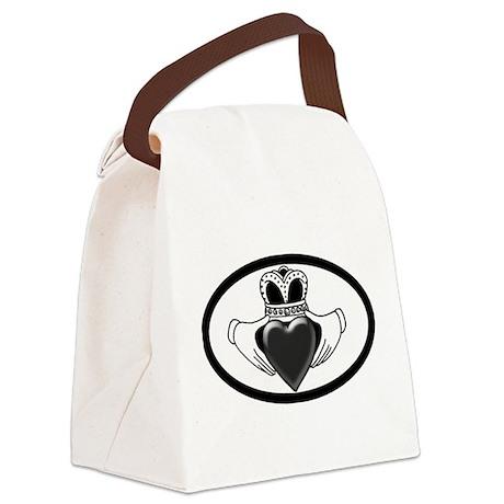 GreyCladdagh.png Canvas Lunch Bag