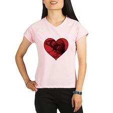 I Love Beaver Performance Dry T-Shirt