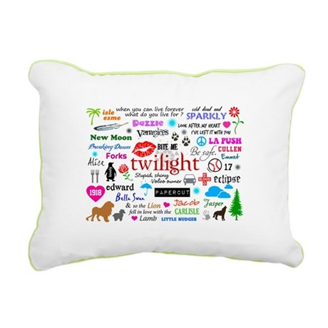 Twilight Memories Rectangular Canvas Pillow