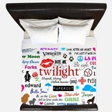 Twilight Memories King Duvet