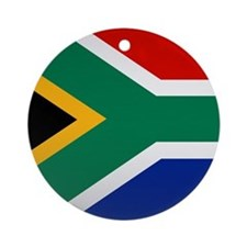South African Button Ornament (Round)