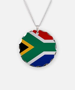 South African Button Necklace